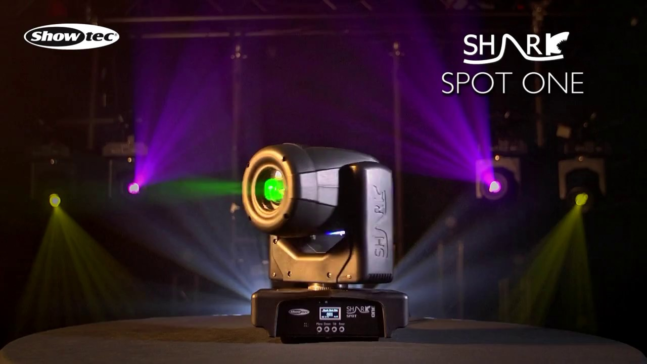 Showtec Shark Spot One, 60W LED Moving Spot Light