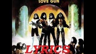 KISS Love Gun Lyrics - YouTube