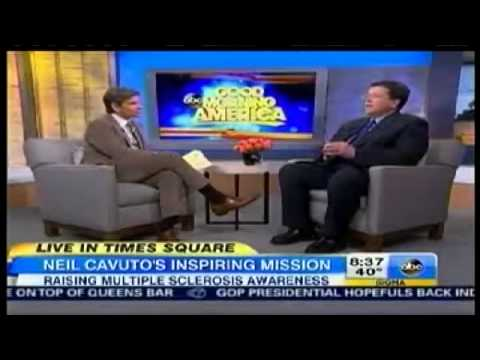 FOX Business Network's Neil Cavuto talks MS on Good Morning America