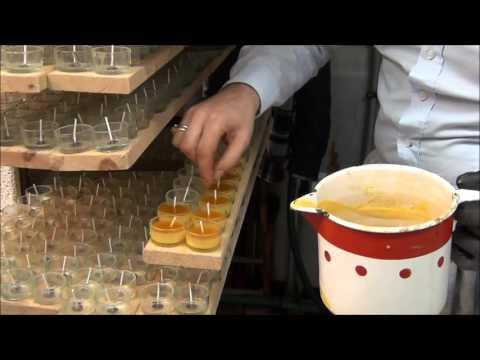 Imkerei 57 Teelichter gießen & Verpacken Teil 1 v. 2