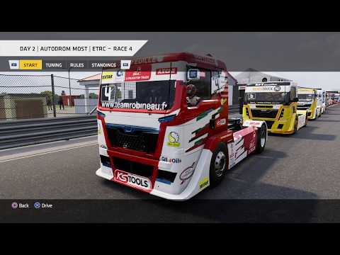Truck Racing Championship - ETRC Round 5: Autodrom Most, Day 2 Race 4 * No Commentary Long Play