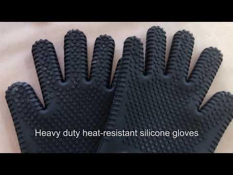 BBQ Dragon Silicone BBQ Gloves