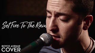 Adele  Set Fire To The Rain Boyce Avenue Cover On Apple & Spotify