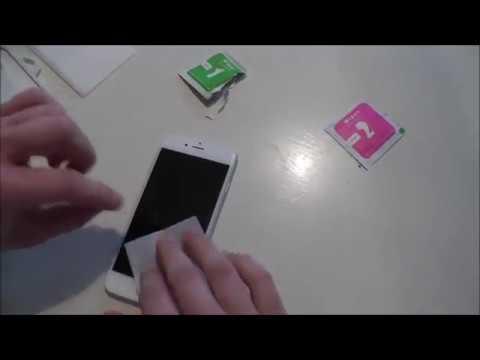 Schutzfolie am iPhone 6 anbringen - Panzerglas (PLT24) - iPhone 6s