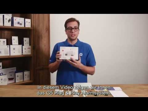 Chuango Open Box Video -- G5 GSM/SMS/RFID Alarmanlage (Deutsch)