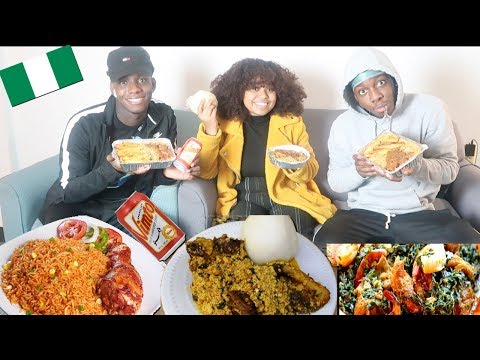 AFRICAN FOOD MUKBANG 🇳🇬 | TOMI IS HAVING A BABY...
