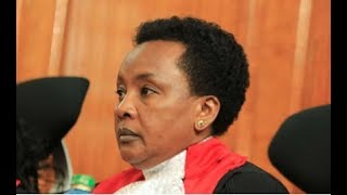 Deputy CJ Philomena Mwilu arrested - VIDEO