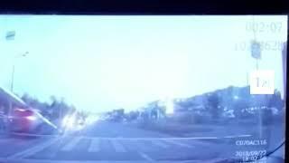Появилось видео ДТП в Казани, где «Киа» сбила двух взрослых и ребенка
