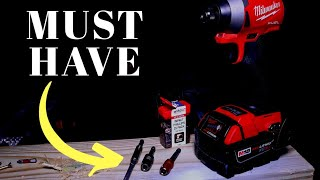 If you use and Impact Driver, you REALLY NEED TO SEE THESE TOOLS! #impactdriver #wiha #toolreviews