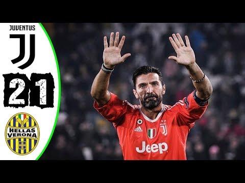 Juventus vs Hellas Verona 2-1   Highlights & All Goals   ( Buffon Last Game )   19052018 HD