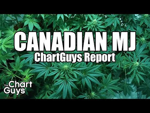 Canadian MJ Technical Analysis Chart 6/30/2018 by ChartGuys.com
