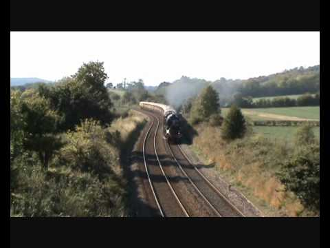 60163 'Tornado' working a lunchtime VSOE around Surrey in Se…