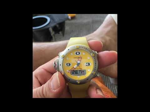 Vagary depth meter dive watch by Citizen