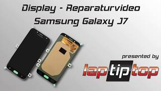 Samsung Galaxy J7 (2017) Display-Einheit Austausch Reparatur Tutorial   laptiptop.com