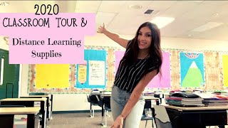 Classroom Tour | Third Grade | Student Supplies For Distance Learning