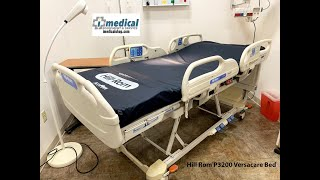 Hill Rom P3200 Versacare Bed Walk Through