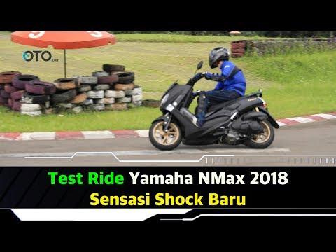 Test Ride Yamaha NMax 2018, Sensasi Shock Baru I OTO.com
