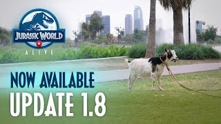 Jurassic World Alive: Sanctuaries Out Now! | Jurassic World