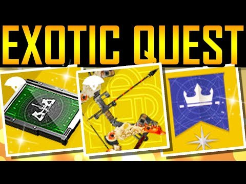 Destiny 2 - EXOTIC BOW QUEST! Dungeon Glitch! 960 Loot!