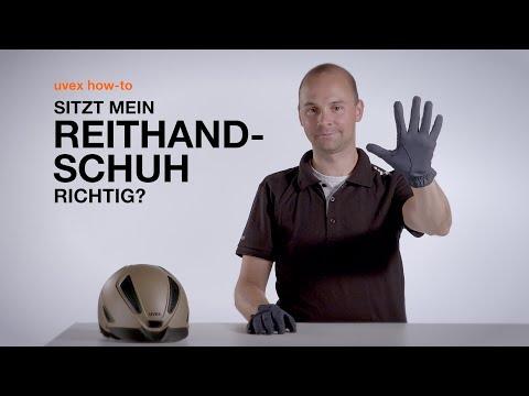 Sitzt mein Reithandschuh richtig? // uvex how-to
