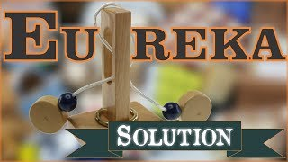 Solution for Eureka from Puzzle Master Wood Puzzles