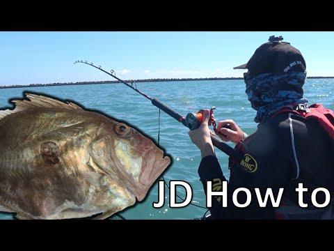 Kajakfiskeri efter sanktpetersfisk