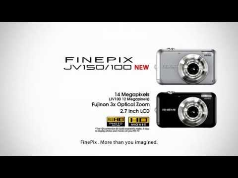 Fujifilm FinePix JV150 - Noir - 14 MegaPixels