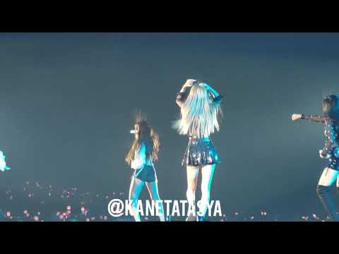 BLACKPINK TOUR JAKARTA ( Day 2 ) - BOOMBAYAH - LOOK AT THEIR HAIR 😂