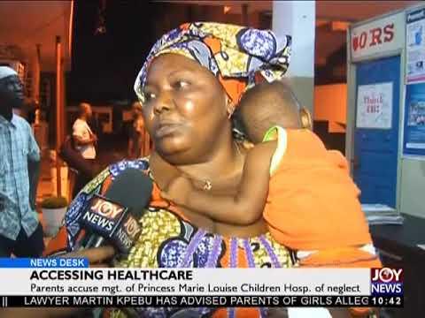 Accessing Healthcare - News Desk on Joy News (6-4-18)