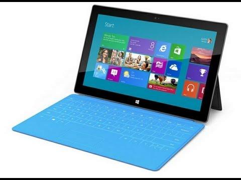 0 Microsoft Surface: alle Details und Informationen zu den neuen Windows-Tablets [Video] Microsoft Tablet
