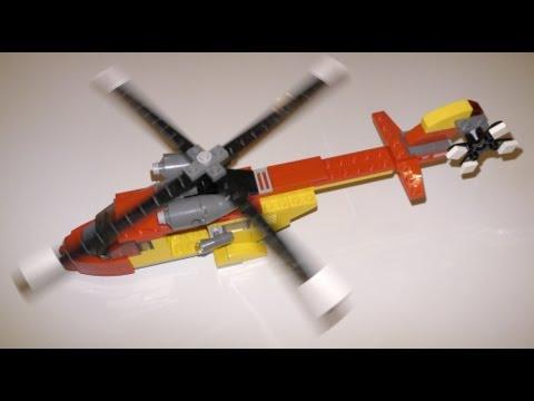 Vidéo LEGO Creator 5866 : L'hélicoptère de secours