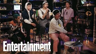 PRETTYMUCH Performs 'Gone 2 Long' | In The Basement | Entertainment Weekly