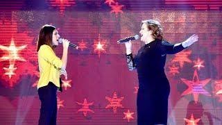 Magui Leiva emocionó a todo el jurado y se dio el gusto de cantar a dúo con Lucía Galán