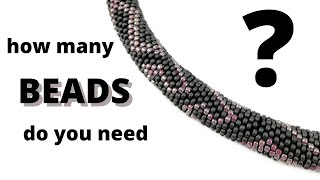 How Many Beads Do You Need For A Bead Crochet Rope? How Many Grams You Shoud Buy?