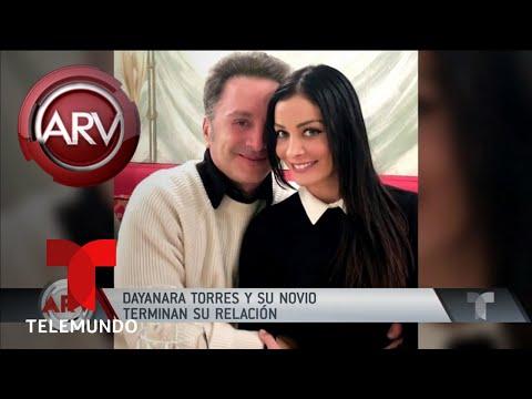 Louis D'Esposito rompe con Dayanara Torres | Al Rojo Vivo | Telemundo