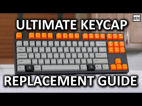 Improve Your Mechanical Keyboard With New Keycaps And Dampeners