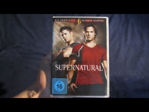 Unboxing: Supernatural Staffel 6 (DVD)