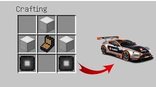 Minecraft Mod - Yarış Arabaları