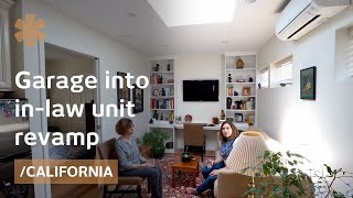 Turning a garage into an in-law unit as empty nest alternative