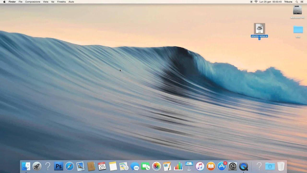 Installare software gestionale Atlantis Evo su Mac OS X