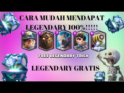Video CARA MENDAPAT LEGENDARY GRATIS!!!!!!!!!!(Clash Royale Indonesia)