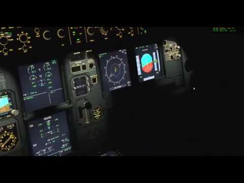 X-Plane] FF A320 Rainy Landing at WSSS Singapore - смотреть