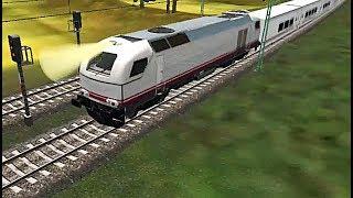Euro Train Sim - Renfe From Paris To Strasbourg