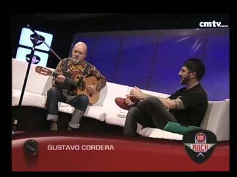 Gustavo Cordera video Otra sudestada (Fragmento) - CM Rock - Acústico 2014