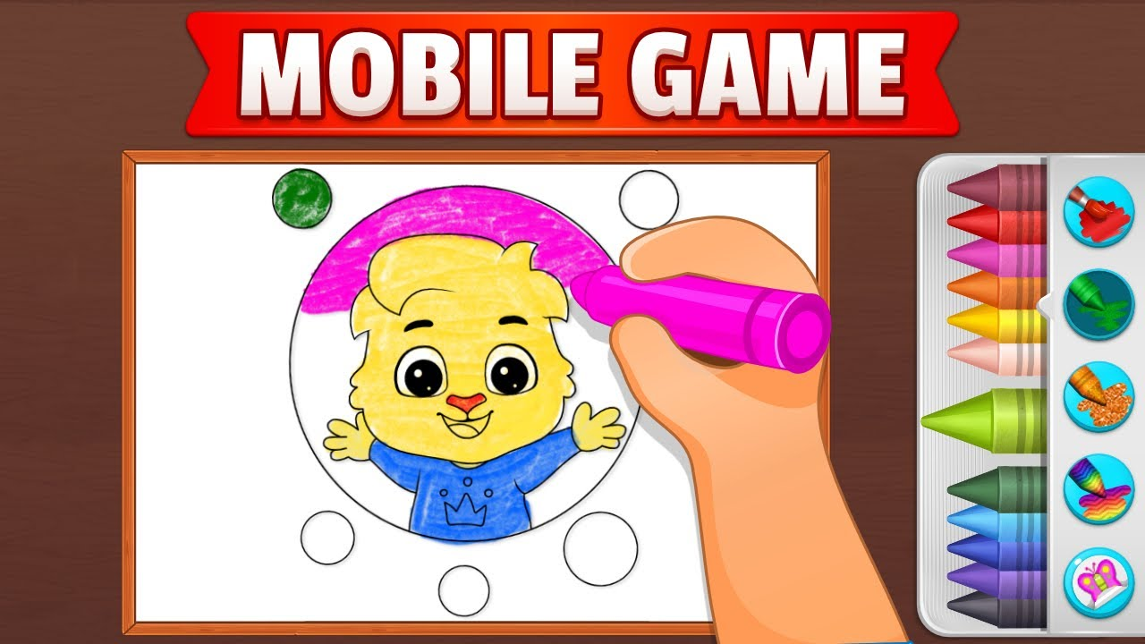 - Coloring Games: Coloring Book, Painting, Glow Draw By RV