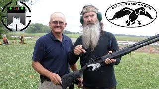 Skeet Shooting With Duck Commander And Jerry Miculek In Slow-Mo!