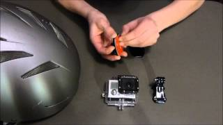 GoPro Tips - How to put the Helmet Mount on