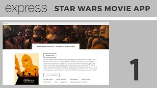 Beginner Express.js Tutorial | Building a Star Wars Movie App (Part 1)