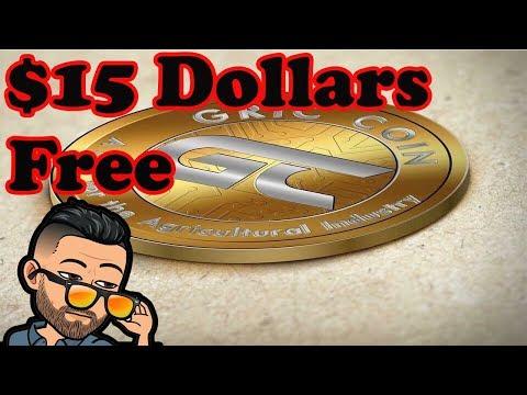 Ganhe ~R$56 reais no Airdrop da Gric !