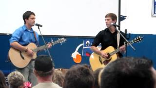 """I'm at Home"" by Chris and Conrad covered by Perry Crouch and Aron Mercer"